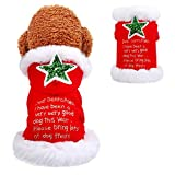 N/A Ropa para Perros Abrigo Ropa de Navidad para Perros Disfraz de Papá Noel para Perros pequeños y Grandes Gatos Pug Ropa para Gatos Chaqueta Abrigo Disfraz para Mascotas