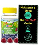 Melatonin for Kids Gummies (1mg) 60 ct from Spring Valley. + 'No Fluff' Melatonin and Sleep Guide©