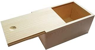 Best wooden slide top box Reviews