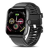 TagoBee Smartwatch Hombre Reloj Inteligente Hombre Mujer Pantalla táctil Completa 1.54' Pulsera de Actividad Impermeable IP67 con de Caloría Monitor de Sueño Pulsómetros GPS para Android iOS