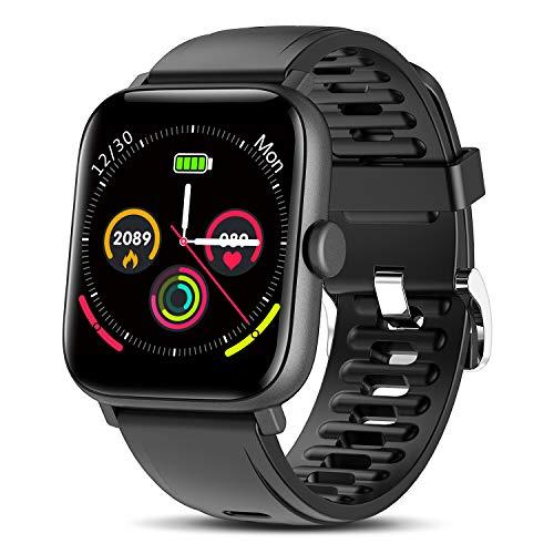 """TagoBee Smartwatch Hombre Reloj Inteligente Hombre Mujer Pantalla táctil Completa 1.54"""" Pulsera de Actividad Impermeable IP67 con de Caloría Monitor de Sueño Pulsómetros GPS para Android iOS"""