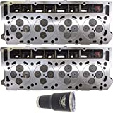 2 x NEW Improved 6.0 6.0L Ford Powerstroke Diesel LOADED O-RING 18mm Cylinder Head...