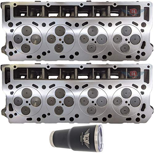 2 x NEW Improved 6.0 6.0L Ford Powerstroke Diesel LOADED O-RING 18mm Cylinder Head PAIR 2003-07 No Core (18MM O-ring)
