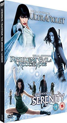 Ultraviolet/Serenity/Resident Evil 2 [DVD]