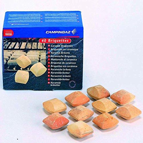 Campingaz Céramique Briquettes 40 Comprimés. Barbecue pierres Barbecue à gaz