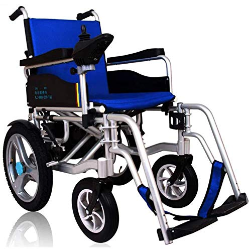 Silla de ruedas eléctrica plegable plegable luz silla de ruedas eléctrica silla...