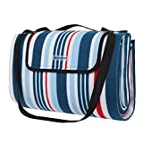 SONGMICS Outdoor Waterproof Picnic Blanket Large Beach Blanket Camping...