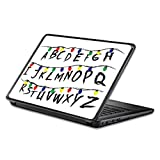 Universal 13' Laptop Skin - Stranger Alphabet | Protective, Durable, and Unique Vinyl Decal wrap Cover | Easy to Apply, Remove, and Change Styles | Made in The USA