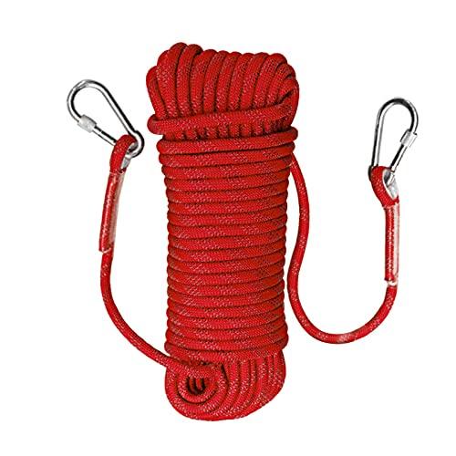 Trintion 12mm 20 Meter Kletterseil Sicherheitsseil Survival Seil Climbing RopeSeil Multifunktionsseil für Freien Wanderung Bergsteigen Sport Camping Maximal Tragegewicht Ca. 2100 KG