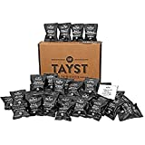 Tayst Coffee Pod Singles 48 Count | Bold & Brazen, Medium & Magnificent | Individually Wrapped & Ready To Go | 100% Compostable Single Serve Coffee Pods | Gourmet Coffee in Earth Friendly Packaging