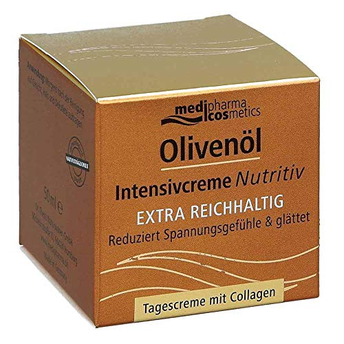 medipharma cosmetics Olivenöl Intensivcreme Nutritiv Tagescreme, 50 ml Creme