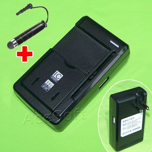 Universal BP2000 Battery Charger Dock Home USB External Travel and Screen Touch Pen Stylus for Samsung Galaxy Camera 2 EK-GC200