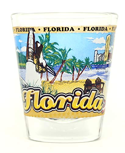 Florida State Wraparound Shot Glass