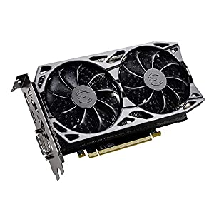 EVGA GeForce RTX 2060 KO Ultra Gaming, 06G-P4-2068-KR, 6 GB GDDR6, Dual Fans, Metal Backplate