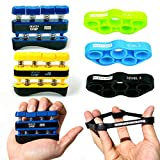 Grip Strength Trainer, Hand Grip Strengthener, Hand Exerciser Grip Strengthener & Forearm Trainer or Forearm Exerciser for Forearm Grip Workout, Hand Strengthener or Finger Strengthener for Strength