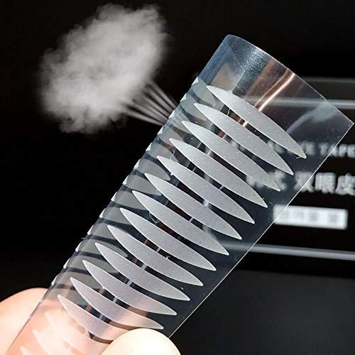 LLine 120 PCS Populaire Dentelle Transparent Paupière Autocollant Invisible Paupière Pâte Auto-adhésif Double Eye Tape Make Up Outil, Style 2