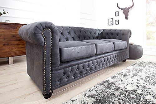 Edles Chesterfield 3er Sofa-200222104025