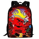 XCNGG Erwachsenen-Vollformat-Druckrucksack Lässiger Rucksack Rucksack Schultasche Ko-ol-Aid School Backpacks 3D Printed Bookbags Daypack Shoulder Lightweight Bag Laptop, Fashion Large Capacity Casual