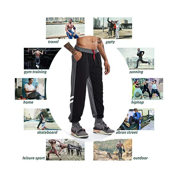 AIMPACT Men's Sweatpants Athletic Loose Fit Sports Casual Jogging Pants for Men