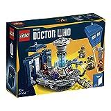 LEGO Ideas - Doctor Who, Juguete de Construcción de Tardis para Recrear sus Aventuras, Incluye 2 Daleks (21304)