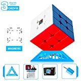 Roxenda Moyu 3x3 M Magnetic stickerless Speed Cube Mofang Jiaoshi 3x3x3 M Cubing Classroom Speedcube Magnetic Enhanced Edition