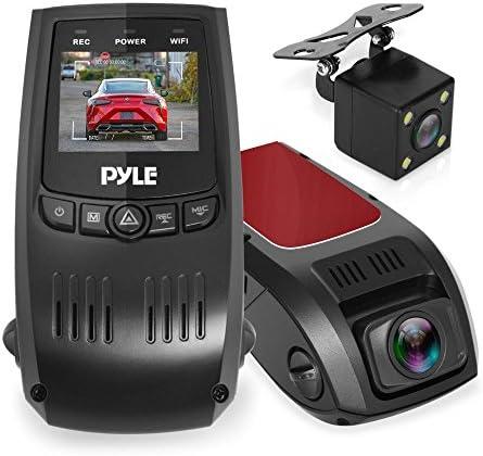 Top 10 Best dual lens gps camera hd car dvr dash cam video recorder g-sensor w/ night vision Reviews