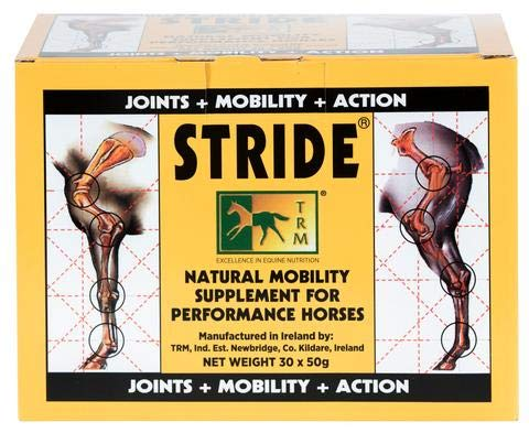 TRM Stride Mobility Supplement for Horses (30 x 50g Sachets)