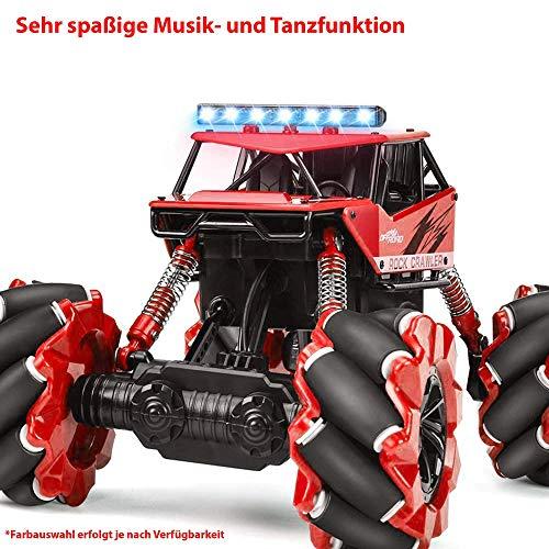 RC Auto kaufen Monstertruck Bild 4: Ferngesteuertes Auto RC Auto,2.4GHz Ferngesteuertes Monstertruck,High Speed RC-Auto mit wiederaufladbaren Batterie*