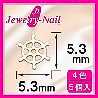 [フレーム]ネイルパーツ Nail Parts フレームダリン(M) ホワイト 日本製 made in japan