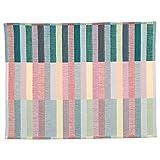 Ikea 803.435.65 - Tovaglietta Mittbit, colore: Rosa Turchese, Verde chiaro