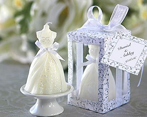 Vasara Vela Vestido de Novia - Detalles Originales Invitados de Bodas, Regalos Comuniones y Recuerdos para Cumpleaños Infantiles
