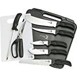 Elk Ridge - Outdoors Hunting Knife Set - Game Processing Kit - 9-PC...