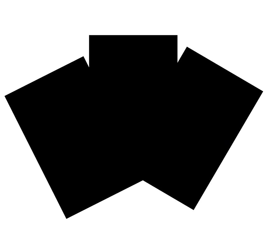House of Card & Paper A4 160 gsm Card - Black (Pack of 50 Sheets)