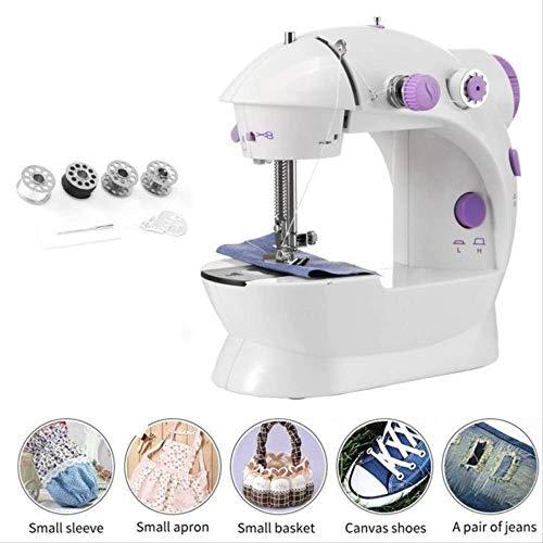 Buy Sewing Machine,Electric Overlock Sewing Machine,Elektrische Haushaltsnähmaschine 2-Gang Tragbar...