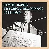 Samuel Barber - Historische Aufnahmen 1935-1960
