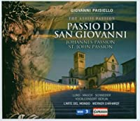 Johannes-Passion by G. Paisiello (2008-04-08)