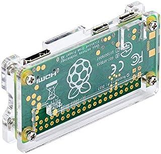 Pi ZeroケースRaspberry Pi Zero 4 in 1キットアクリルケースRaspberry Pi Zero WおよびPi Zero 1.3(アクリルクリア)