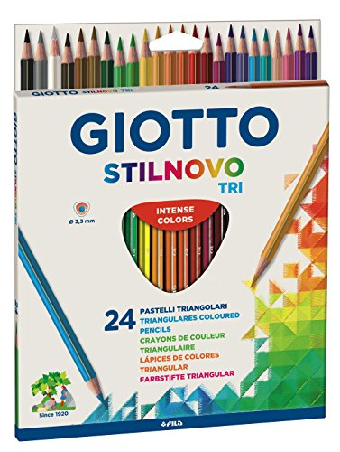 Giotto 2571 00 Farbstifte Stilnovo Triangular