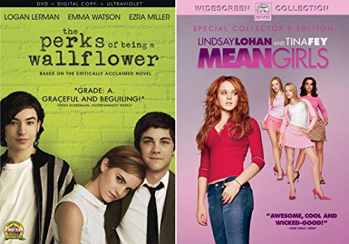 Mean Girls + The Perks of Being a Wallflower DVD Teen Set