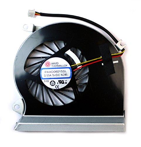 Power4Laptops Ventilador para Ordenadores portátiles Compatible con MSI Gaming GE70 0ND