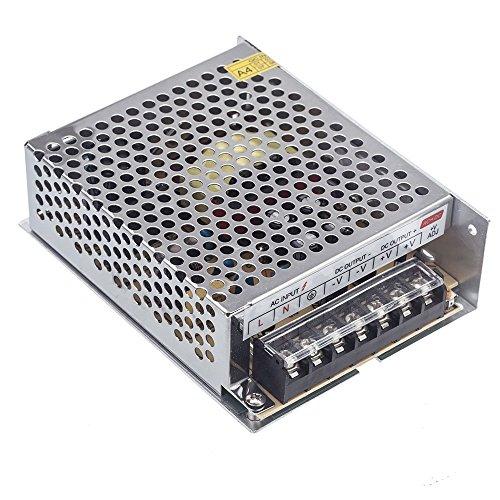 Cikuso AC 100V ~ 220V a DC 24V 5A 120W conversor del voltaje fuente de alimentacion del interruptor para la tira del LED