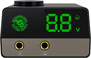 Extreme Digital Dual LCD Tattoo Power Supply for Tattoo machine Two Modes Peal Mode and Clip Cord Mode
