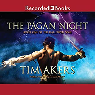 The Pagan Night audiobook cover art