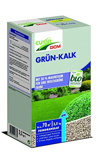 GRÜN-KALK mit 30% Magnesium 3,5 kg Frühjahrsdünger Rasen Blumen Gartenkalk Rasenkalk