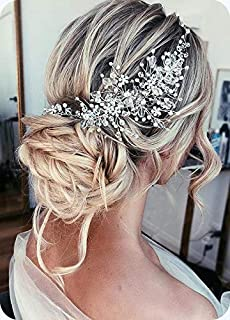 side headpiece wedding