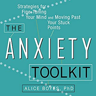 The Anxiety Toolkit audiobook cover art