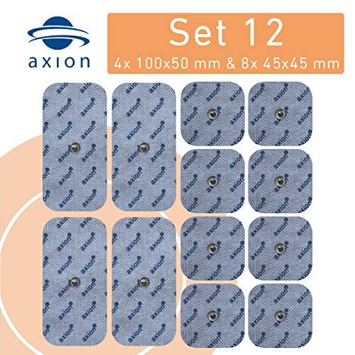 12 Stück Misch-Set Druckknopf - Elektroden, Passend Zu TENS / EMS - Geräten Sanitas SEM 40, 41, 42, 43, 44 Und Beurer EM 40 / 41 / 80