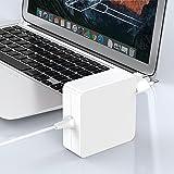 Compatible avec Mac Pro AC 85W Chargeur Adaptateur Secteur T Tip Chargeur Compatible avec Mac Bok Pro Retina 13'15' 17'-Pouces, Mi 2012, 2013, 2014, Mi 2015 Mac Retina Display