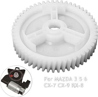 BAAQII Delantero Trasero Elevalunas eléctrico Regulador Motor Engranaje para Mazda 3 5 6 CX-7