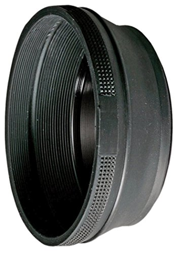 B+W 62MM Rubber Lens Hood - Parasol para Objetivos, Negro